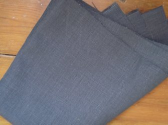 100% Hemp - Gun Metal Grey - 14oz