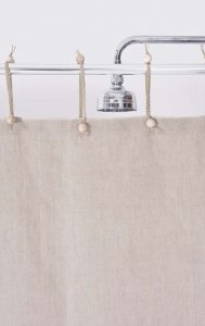 Hemp Curtain Purely Natural 143cm Width