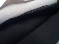 Purely 6oz Hemp - Black - 100% Hemp Fabric - For Shirts etc